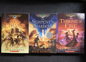 The Kane Chronicles Paperback Box Set : Includes The Red Pyramid,