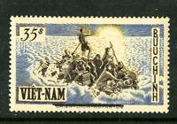 Vietnam Stamps # 54 XF OG NH Error Double Line