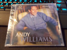 Greatest Hits by Andy Williams, CD (2010 Sony Music Group) Factory Sealed CD