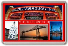 FRIDGE MAGNET - MIDDLESBROUGH - Large - Teeside TOURIST