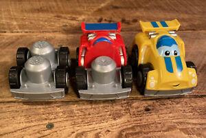 Mega Bloks First Builders Cars Lot of 3