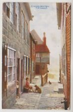 Yorkshire (North) postcard - Whitby, Tin Chaut - P/U 1913 (A818)