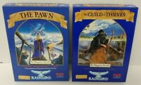 "The Pawn & The Guild Of Thieves by Rainbird CBM 64/128 3.5"" floppy disk PC Games"