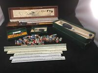 K & E Leroy Lettering Set Keuffe & Esser Co. Wooden Box Many Extras Included