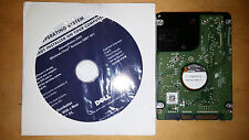 New Dell Windows Vista Business 32Bit SP1 DVD Reinstallation Disk with HD Bundle