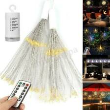 8 Modes Remote Hanging Firework LED Fairy String Light Christmas Party Decor