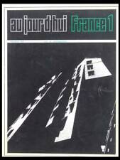 AUJOURD'HUI ART ARCHITECTURE n°54 1966 FRANCE,CLAUDE PARENT,VIRILIO,ROGER TALLON