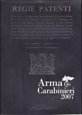 OPUSCOLO ARMA DEI CARABINIERI - ANNO 2007 (STORIA, ATTIVITA' OPERATIVA, ETC.)