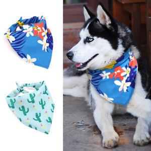 Bandana Dog Collar Small Medium Large Pet Doggy Neck Scarf Triangle Neckerchief