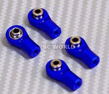 M3 METAL ROD ENDS For Aluminum Link Ends  BLUE  (4PCS)