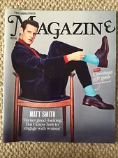 THE TIMES MAGAZINE MATT SMITH COVER NEW IVANKA TRUMP DR WHO TREVOR NOAH