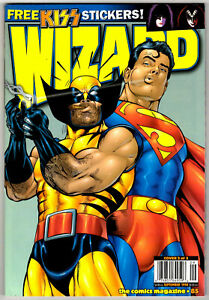WIZARD MAGAZINE #85 - SEPTEMBER 1998 - HIGH GRADE - SUPERMAN / WOLVERINE COVER