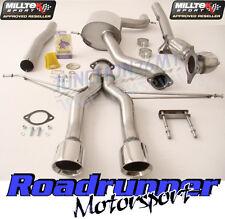 Milltek Leon Cupra R 265PS 10-12 Exhaust Turbo Back Inc Decat Downpipe SSXSE142