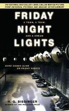 Friday Night Lights, H. G. Bissinger, 0306814250, Book, Good