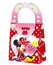 10  Minnie Mouse Clubhouse Food Boxes Carry Handbag Meal Box Birthday Party