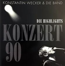 Konstantin Wecker & Die Band CD Konzert 90 - Europe (M/M)
