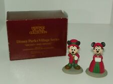 Department 56 Disney Parks Village Mickey and Minnie Handpainted Porcelain