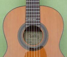 Spanische 1/2 Konzertgitarre Valdez E/53 massive Zederndecke EGTA hochwertig Top