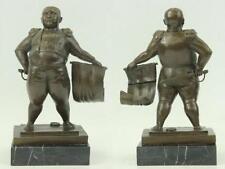 "Real Bronze Matador Bullfight Spanish Mexican Bul Figurines 13"""