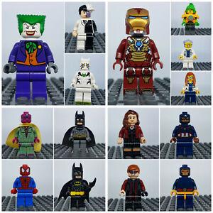 Lego DC Super Heroes, Batman, The Joker, Ultra Agents - Figuren Auswahl selten