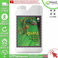 Advanced Nutrients Iguana Juice Organic Grow 1L - Veg Booster Nutrient 1 Litre