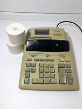 Casio FR-2650PLUS Tax & Exchange Printing 12 Digit Desktop Calculator w/ 2 Paper