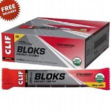 Clif Bloks 18 x 60g Strawberry