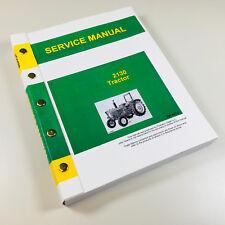 SERVICE MANUAL FOR JOHN DEERE 2130 TRACTOR TECHNICAL REPAIR SHOP BOOK OVHL