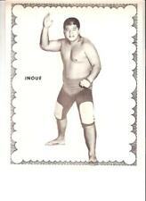1970 Wrestling promotional picture NWA Gran Prix Canada Inoue Japanese star 8x10
