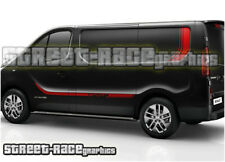 Renault Trafic Sport Plus + racing stripes 012 decals vinyl graphics (SWB / LWB)