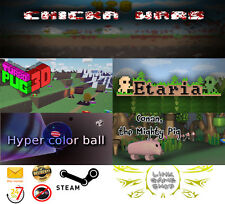 Hyper Color Ball+ Etaria+ Conan the mighty pig +Chicka Wars PC Digital STEAM KEY