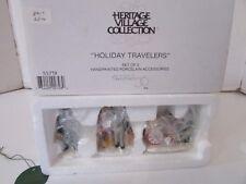 Dept 56 55719 Holiday Travelers Set Of 3 Figures D3