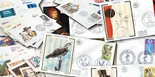 Echte Briefmarken aus Frankreich & Kolonien mit Ersttagsbrief-Erhaltungszustand