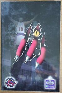 2001-02 TORONTO RAPTORS MEDIA GUIDE - VINCE CARTER COVER - NBA