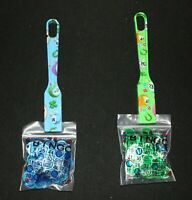 BINGO Designer 2 Pack Magnetic Wands and 100 Chips each color Blue Green