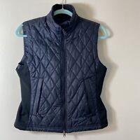 Marmot Gray & Black Women's Quilted Vest - Size S