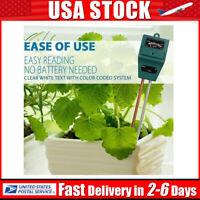 3 in 1 PH Tester Soil Water Moisture Light Luxmeter Test Meter for Plant Flower