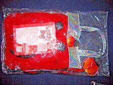 Lovely Ladybug Dress-up Child Costume Free Size Skirt Wand Headband Bag 2 Sets