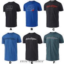 Troy Lee Designs Precision té Vivid Blue t shirt MX motocross MTB BMX enduro