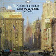 Wilhelm Middelschulte: Organ Works, Vol. 4 - Goldberg Variations, New Music