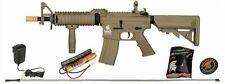 Lancer Tactical GEN2 Tan MK18 Mod0 AEG Airsoft Rifle 6mm Gun + Battery