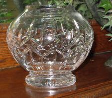 Royal Doulton  crystal Footed ROSE BOWL  - NEW