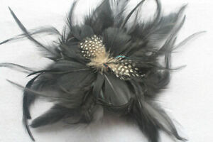 1pcs Beautiful fashion Feather Hair Flower variety of color DIY jewelry decorate