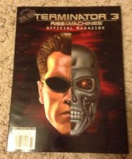 Terminator 3 Rise Of The Machines Official Magazine 2003 Beckett