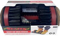 Boot Scraper Brush Cleaner Outdoor Door Step Mat Removes Mud Dirt Shoes Wellies