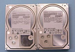 """(Lot of 2) 2TB SATA 3.5"""" Desktop Hard Drives - Hitachi"""