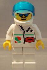 LEGO: MINIFIG: OCTAN: Octan Racing with White Helmet