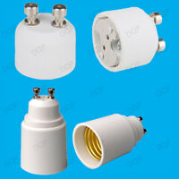 GU10 to E27, GU10 to MR16 Light Bulb Socket Lamp Fitting Adaptor Holder Extender