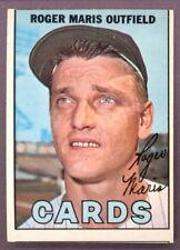 1967 TOPPS OPC O PEE CHEE BASEBALL #45 ROGER MARIS CARDS EX-NM YANKEES CARDINALS