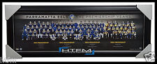 PARRAMATTA EELS THE PREMIERSHIP YEARS FRAMED LIMITED EDITION LICENSED PRINT NRL